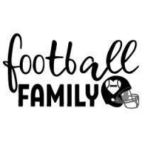 Football Family SVG