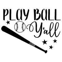 Baseball Y'All SVG