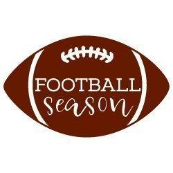 Football Season SVG