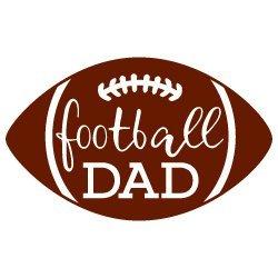 Football Dad SVG