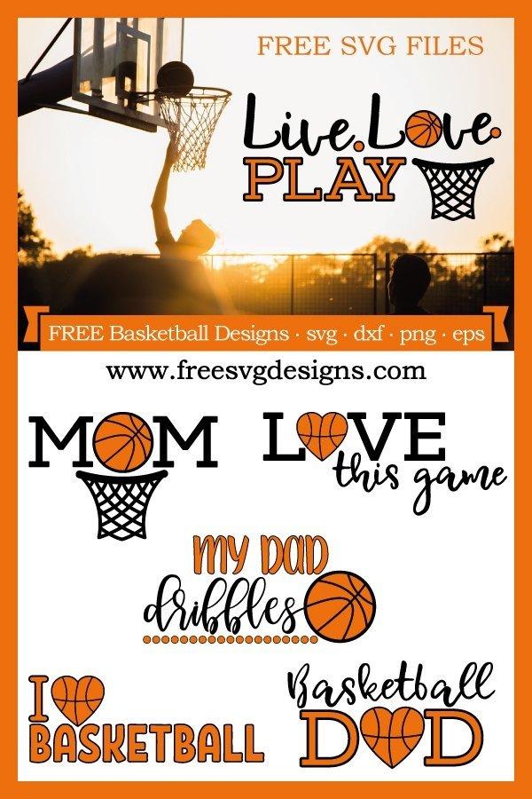 Free Basketball SVG Files