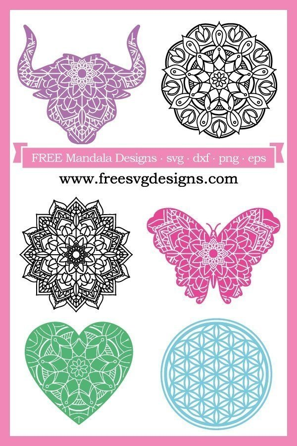 Mandala SVG designs