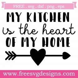 Free Svg Files Svg Png Dxf Eps Kitchen Quote