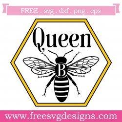 Quote Queen Bee SVG