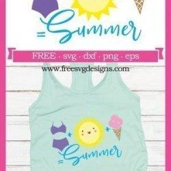Summer SVG Design