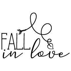Fall In Love SVG