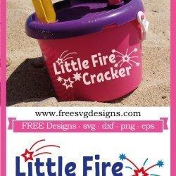 Little Fire Cracker SVG