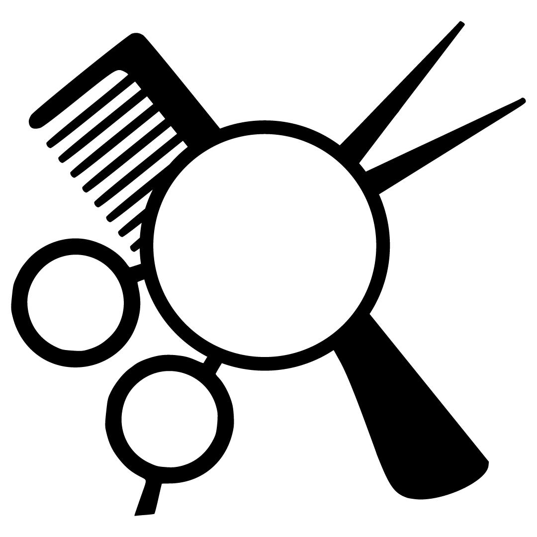 Download Free Svg Files Svg Png Dxf Eps Hairdresser Monogram