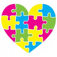 Love Heart Puzzle SVG