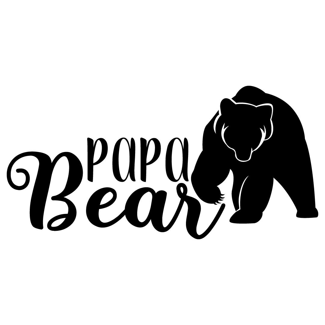 Papa Bear Free SVG Files 989