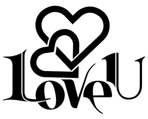 774+ Svg Love Files DXF Include