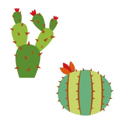 Cactus Plants SVG