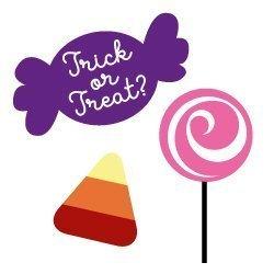 Treats Halloween Candy SVG