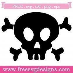 Skull Cross Bones SVG