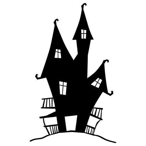 Free Svg Files Svg Png Dxf Eps Halloween Haunted House