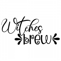 Quote Halloween Witches Brew SVG