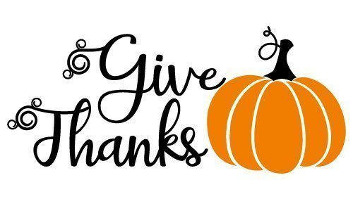Quote Give Thanks Fall SVG