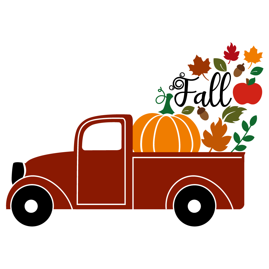 Free Svg Files Svg Png Dxf Eps Quote Fall Pick Up Truck