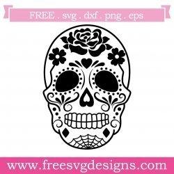 Sugar Skull Day Of The Dead SVG