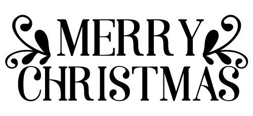 Quote Merry Christmas SVG