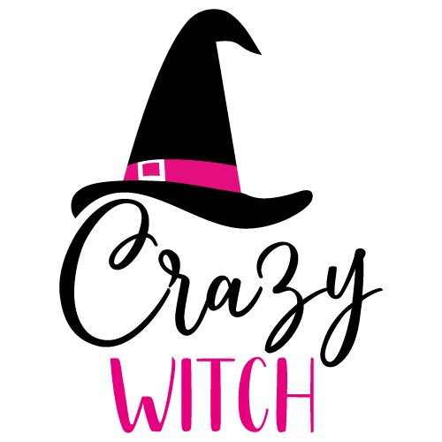 Free Svg Files Svg Png Dxf Eps Quote Crazy Witch