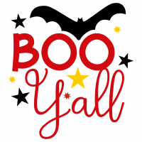 Quote Halloween Boo Yall SVG