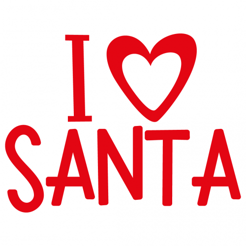 Free Svg Files Svg Png Dxf Eps I Love Santa