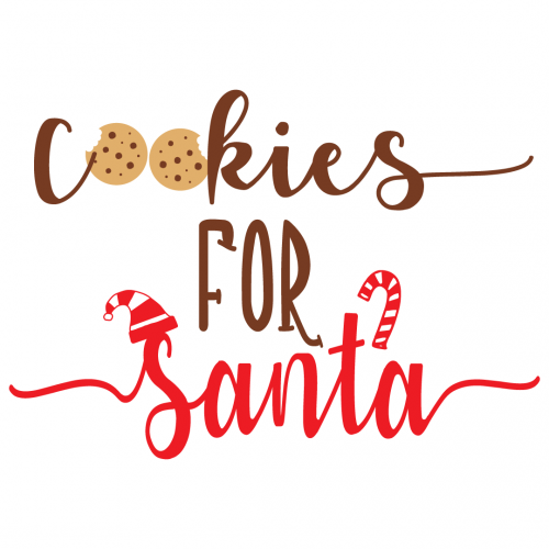 Quote Cookies For Santa SVG