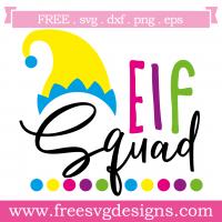 Quote Elf Squad SVG