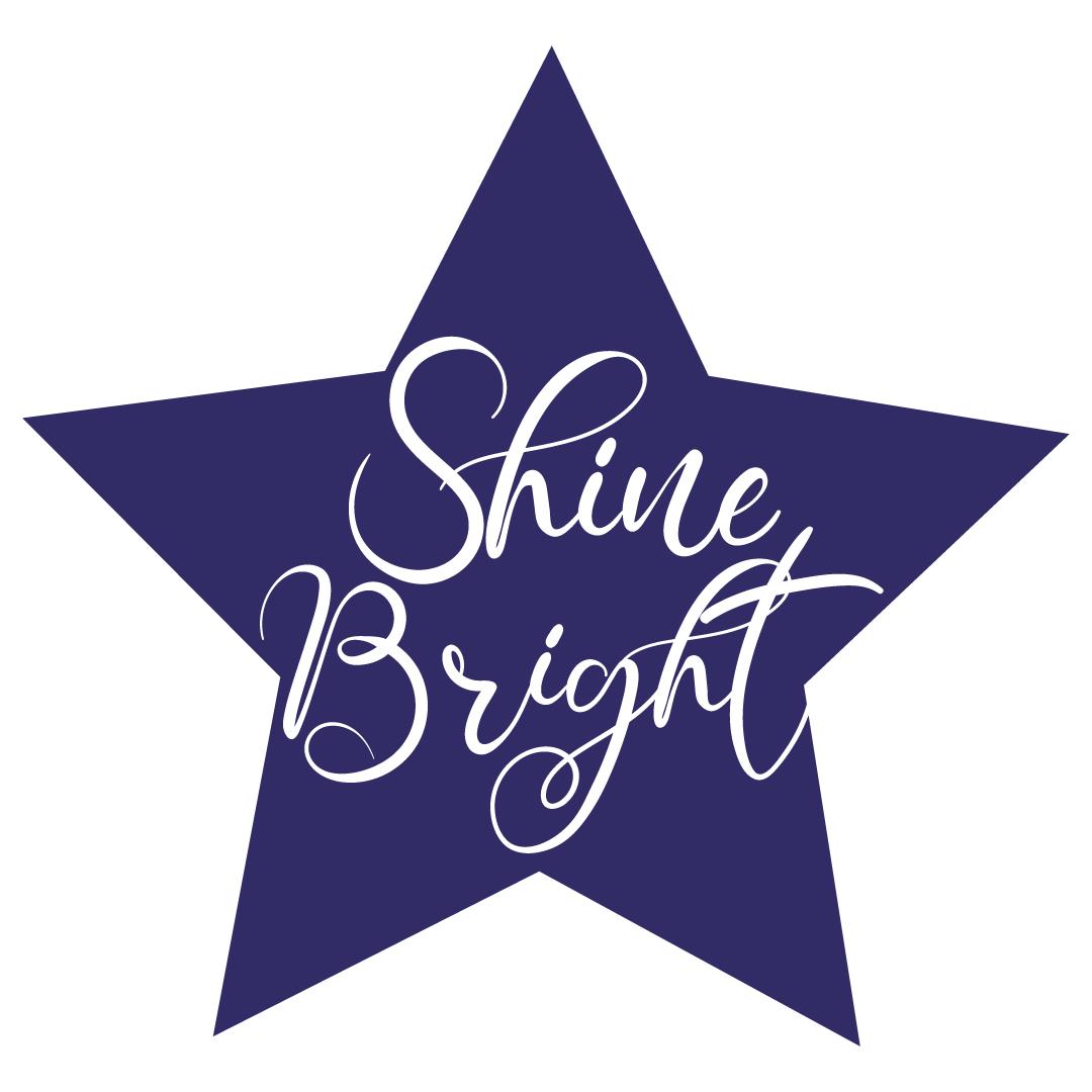 Quote Shine Bright SVG
