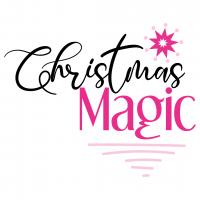 Quote Christmas Magic SVG