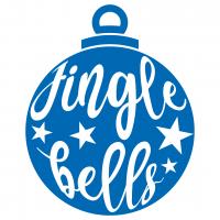 Jingle Bells Bauble Ornament