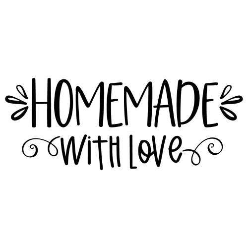 SVG Layered Made With Love Kitchen Svg for Silhouette