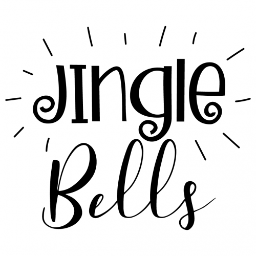 Quote Jingle Bells SVG