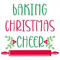 Baking Christmas Cheer SVG