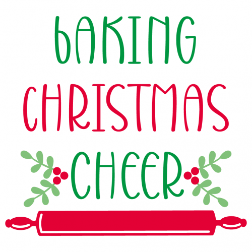 Free Svg Files Svg Png Dxf Eps Quote Baking Christmas Cheer