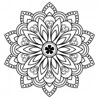 Mandala Love Hearts SVG