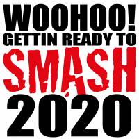 Quote Woohoo! Gettin Ready To Smash 2020 SVG