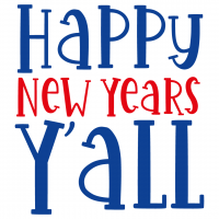 Quote Happy New Years Yall SVG