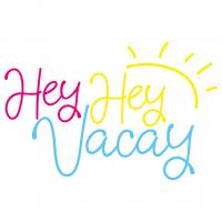 Quote Hey Hey Vacay SVG