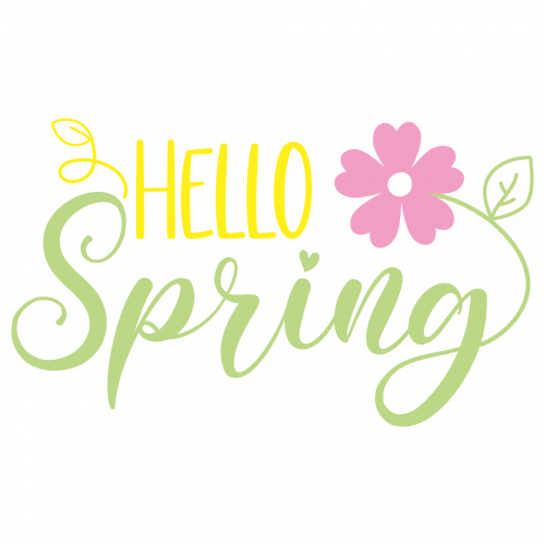 Free Svg Files Svg Png Dxf Eps Quote Hello Spring