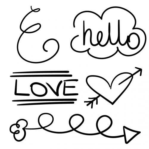 Doodle Artwork SVG