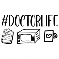 Quote Doctor Life SVG