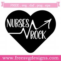Quote Nurses Rock SVG