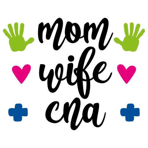 Quote Mum Wife CNA SVG