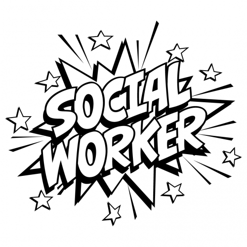 Quote Social Worker SVG