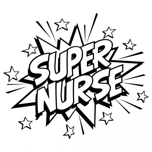 Quote Super Nurse SVG