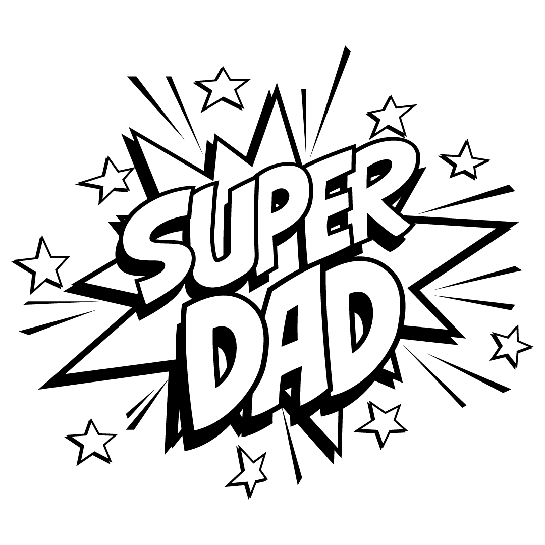 Quote Super Dad Free SVG Files 1305