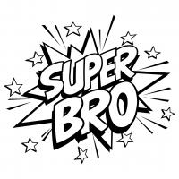 Quote Super Bro SVG