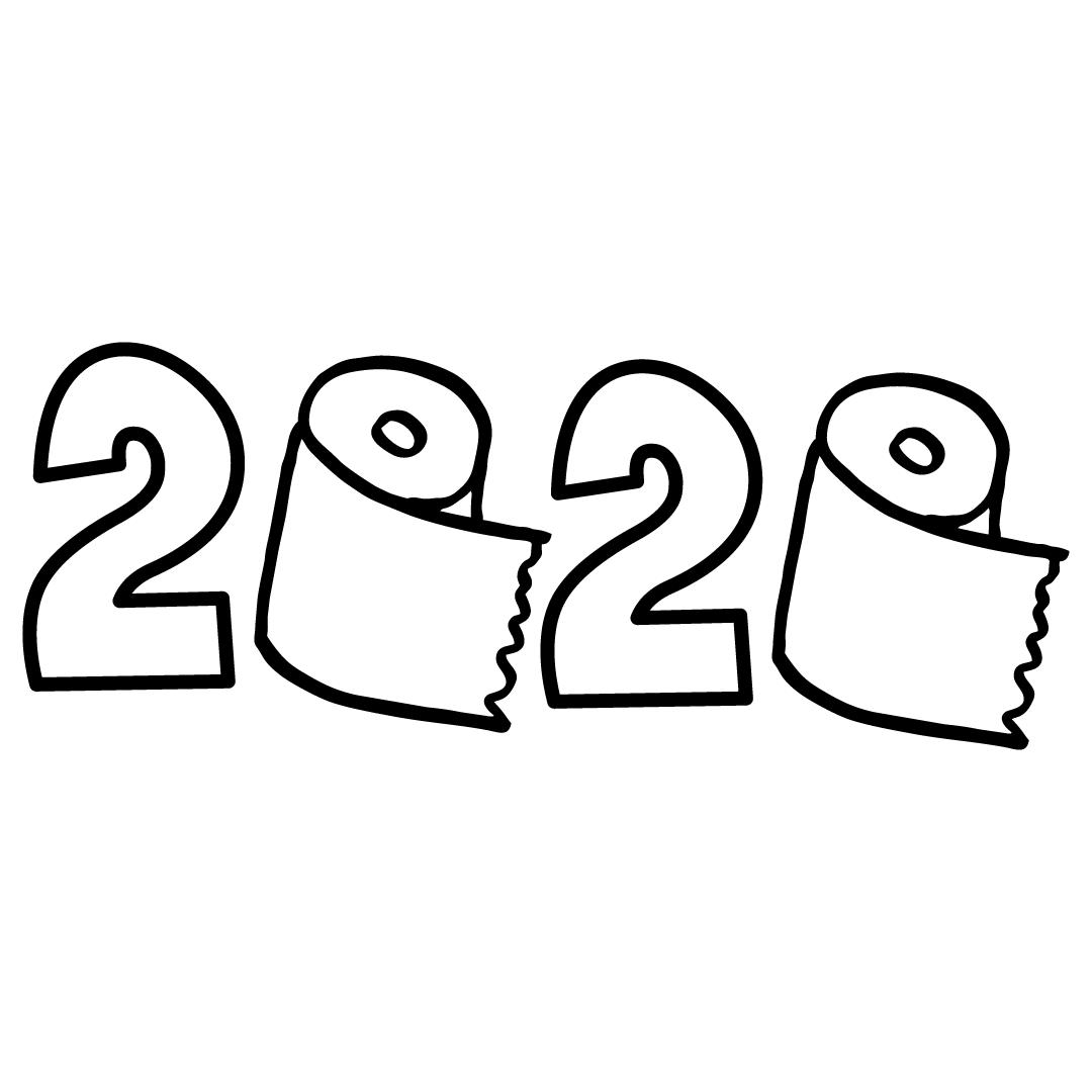 2020 Toilet Paper SVG